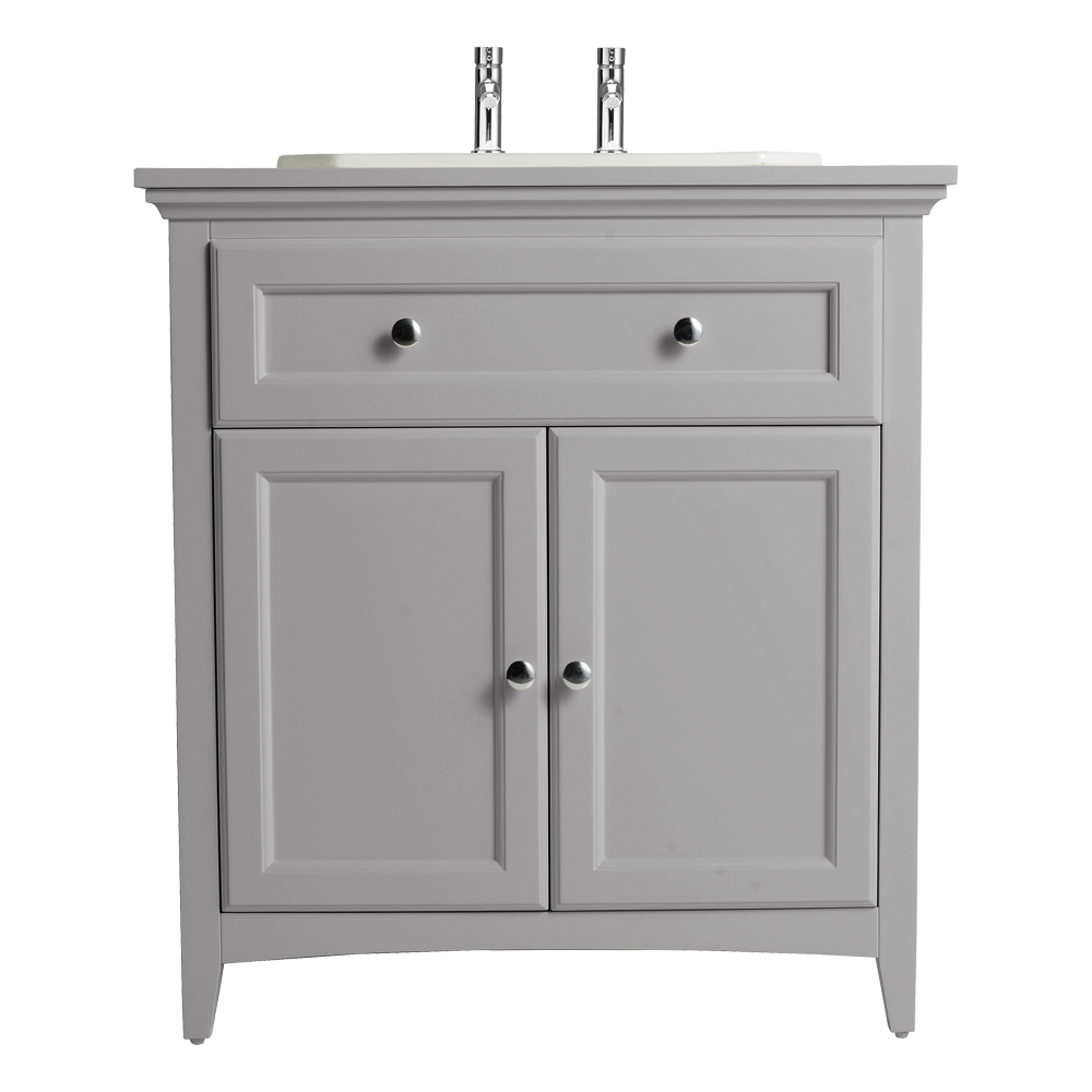 Savoy Old English White 790 Basin Unit - With 1 Tap Hole Basin