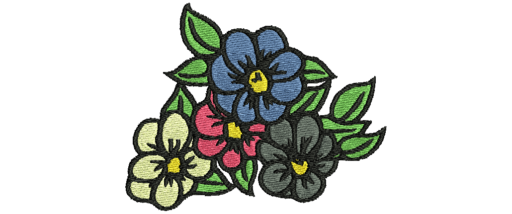 Fleurs Embroidery Embroidery designs, Embroidery