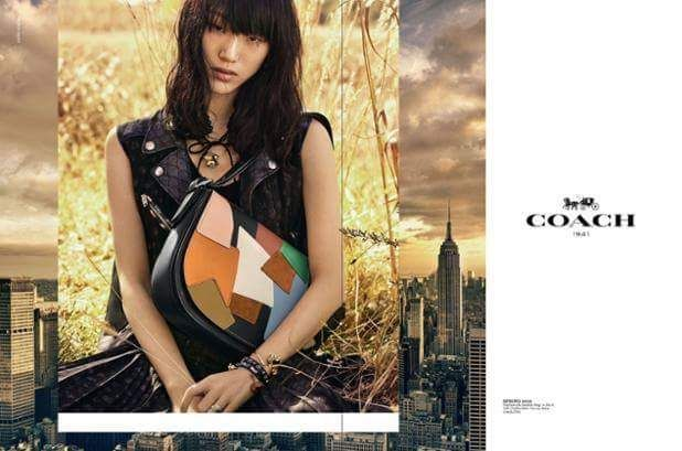 Sora Choi @sola5532 covers the @Coach S/S 2016 Campaign by ‪#‎StevenMeisel‬ styled: ‪#‎KarlTempler‬ casted: @ashleybrokaw