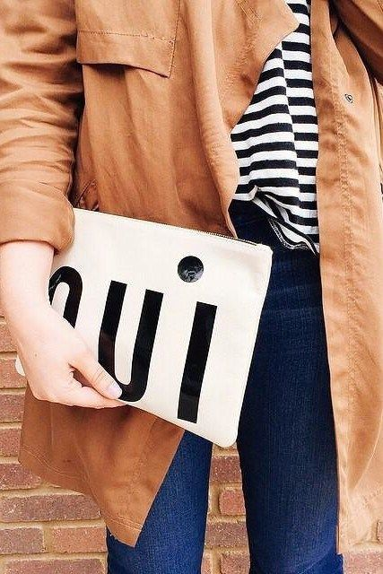 Oui Pouch by Clare V #anthrofave #anthropologie