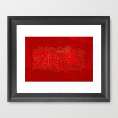 artered Framed Art Print by ErDavid - $33.00