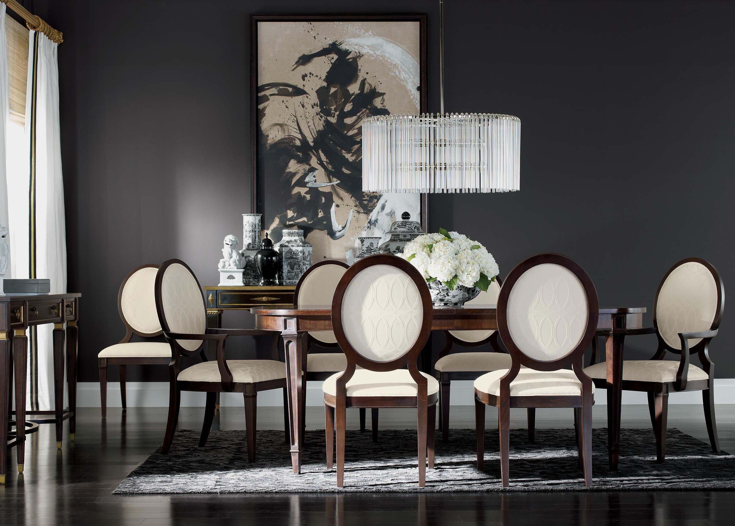 Sophistication Reigns Dining Room  Ethan Allen  Modern Interiors Captivating Formal Dining Room Furniture Ethan Allen Design Decoration