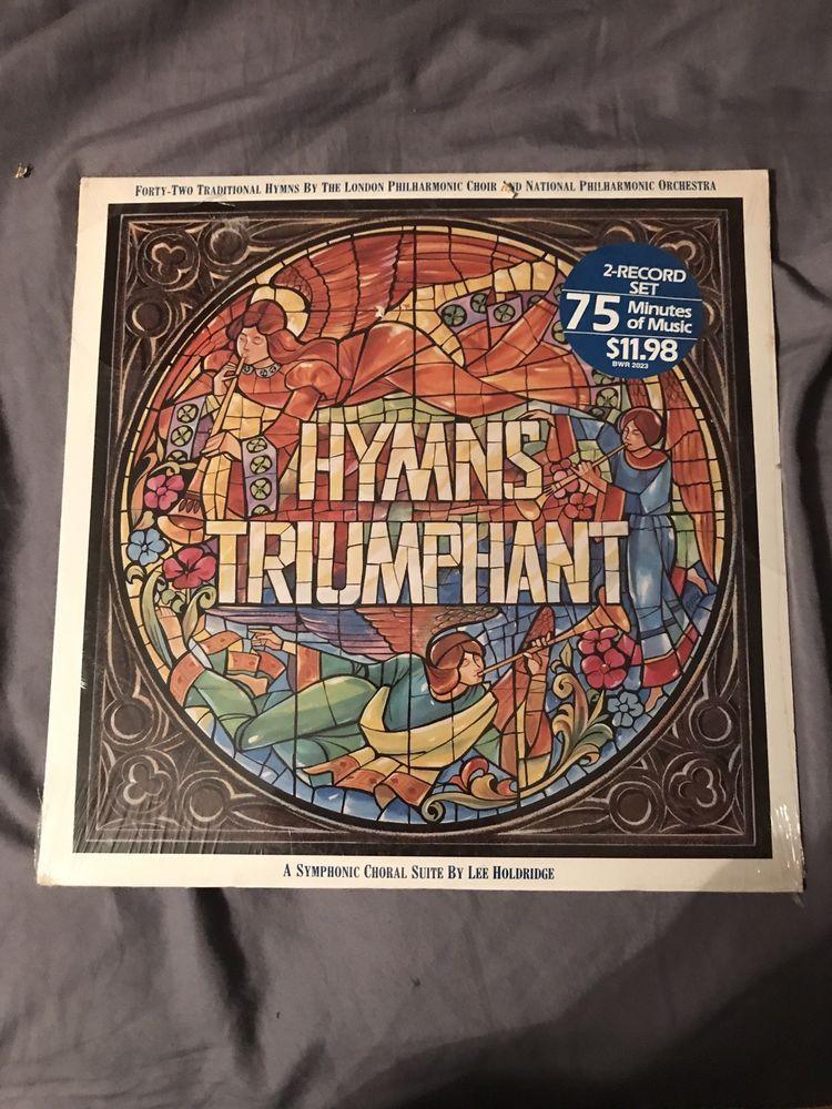 Hymns Triumphant Sealed Record Ebay Ebay Choir Vintage