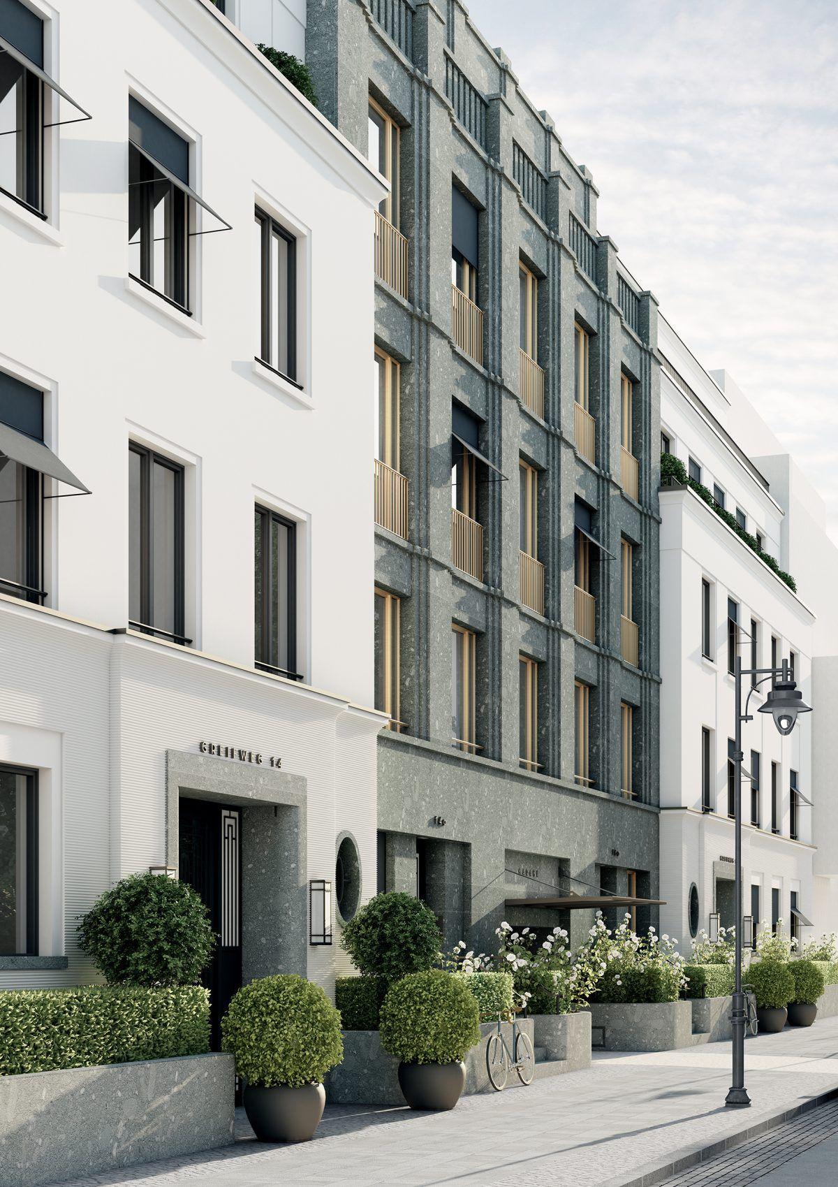 Greifweg Immobilie Düsseldorf Fassade | Cool architecture ...