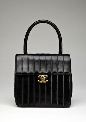 350c0095567a CHANEL Vertical Stripe Lambskin Mini-Tote | Hautest Haute Bags ...