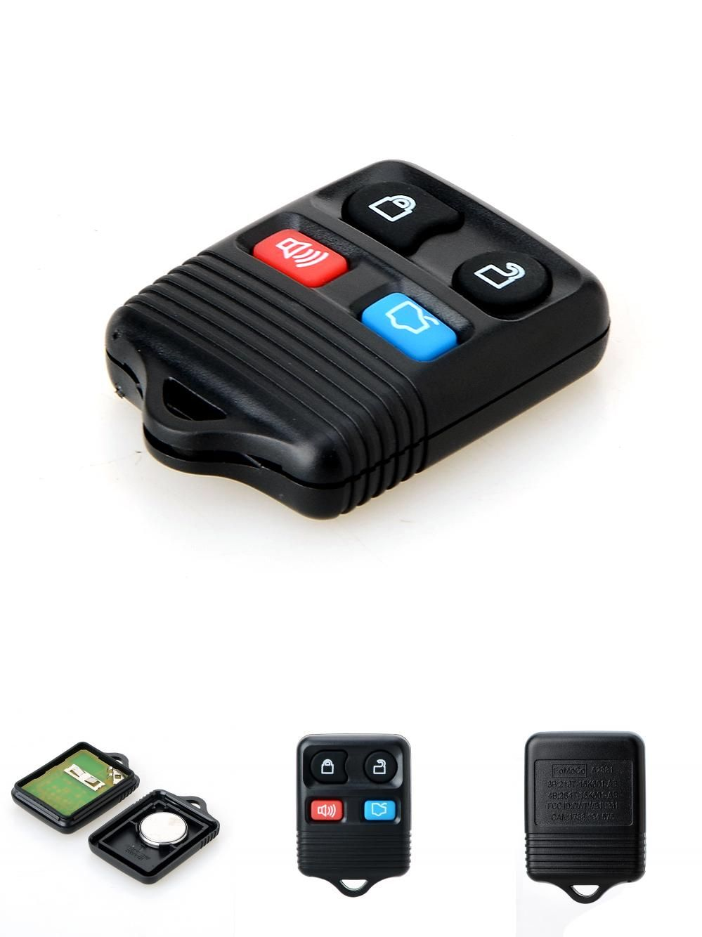[Visit to Buy] 4 Buttons Remote Car Key Transit Keyless Entry Fob For Ford Complete Remote Control Circuid Board Included  sc 1 st  Pinterest & Visit to Buy] 4 Buttons Remote Car Key Transit Keyless Entry Fob ... markmcfarlin.com