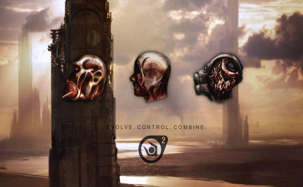 Half Life 2 Combine Hd Wallpaper Half Life Life Half