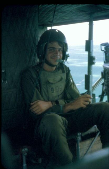 Bell UH-1 Huey crew chief