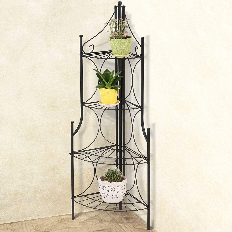 miadomodo tag re d 39 angle pour plantes porte fleurs. Black Bedroom Furniture Sets. Home Design Ideas
