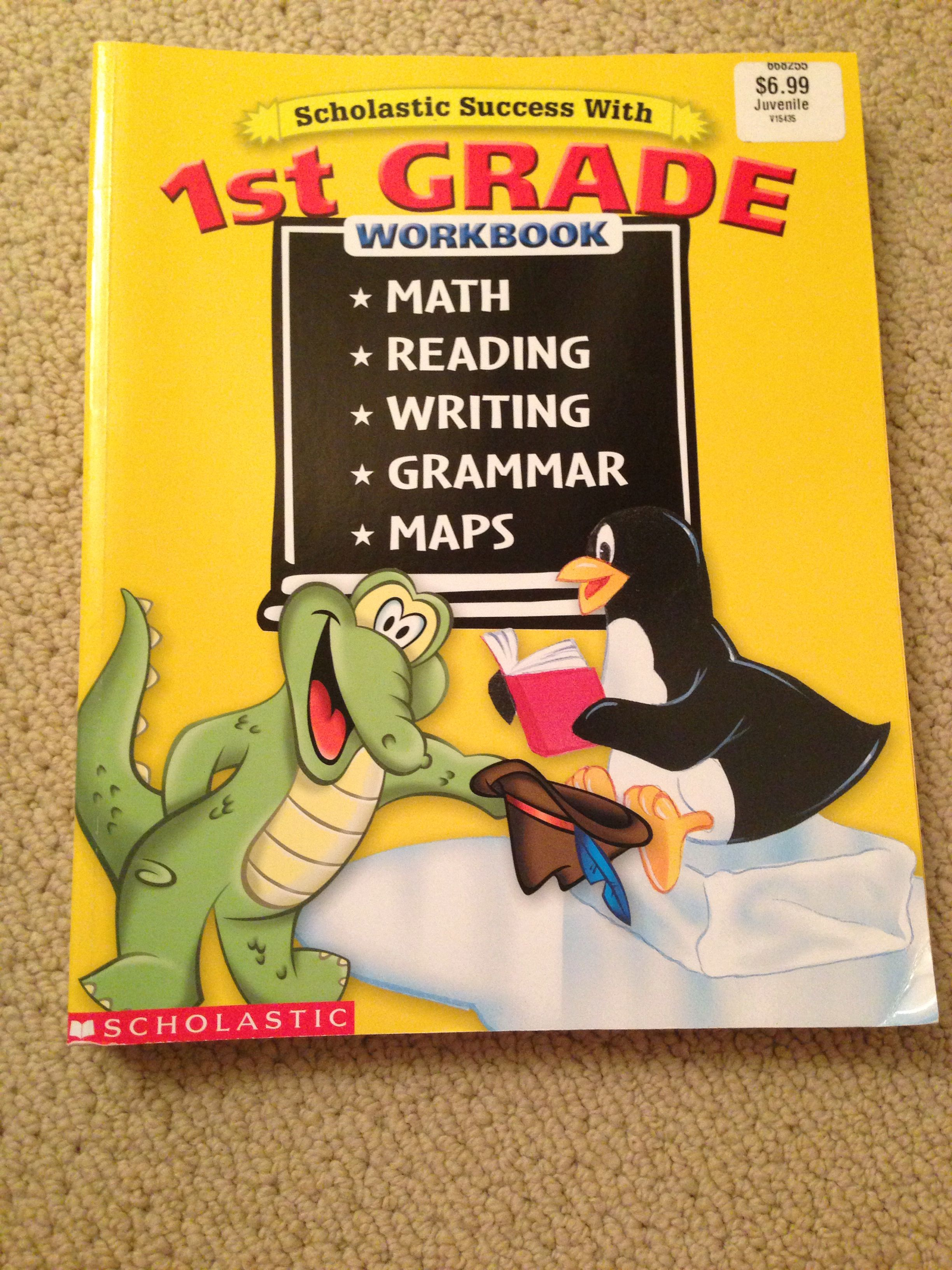 Scholastic Success With First Grade Workbook Curriculum All