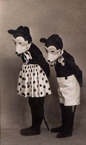 MICKEY MASKS | pie eyes | Mickey mouse costume, Vintage ...