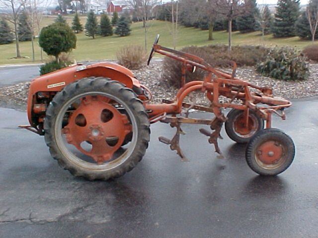 Original Allis Chalmers G with cultivators | A few of my