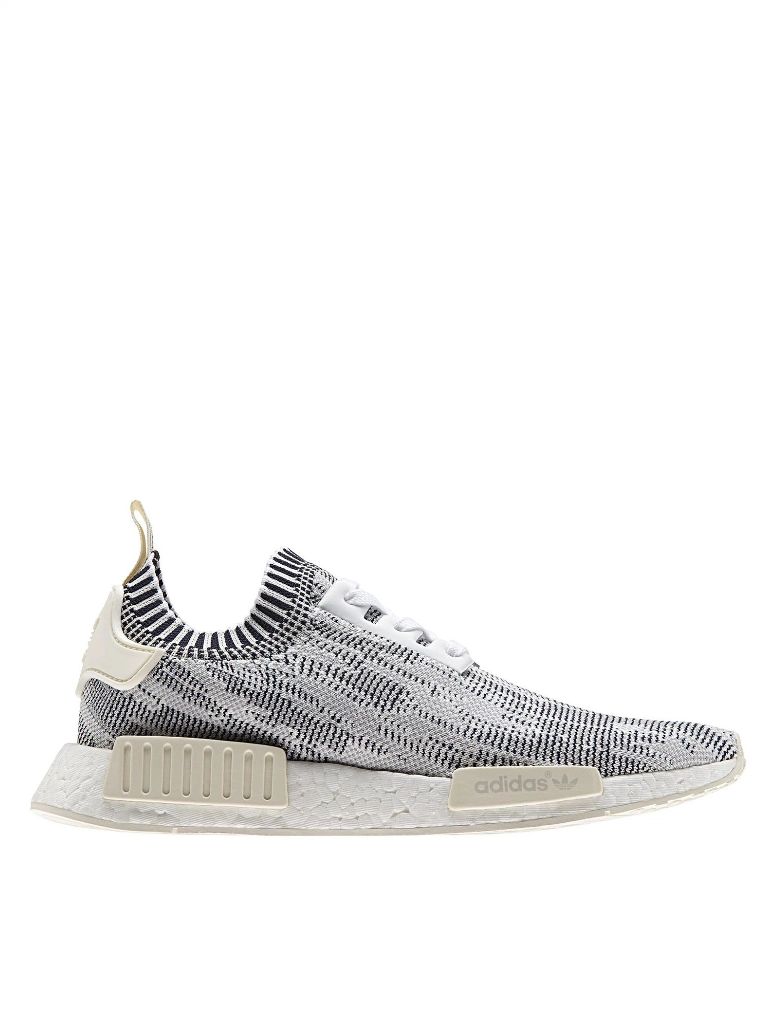 Adidas originali nmd città sock primeknit: grigio chiaro.