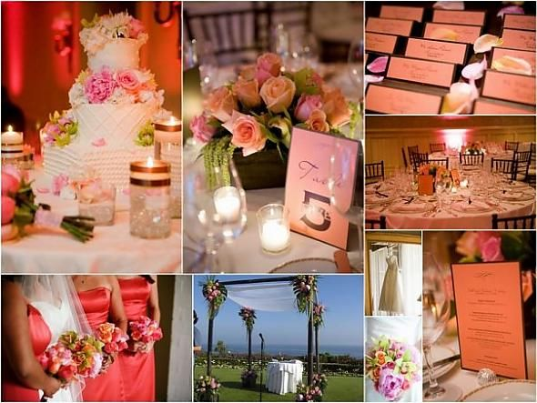 Pink U0026 Orange Wedding Ideas ... Please Follow Us Also On Facebook At Www · Coral  Wedding DecorationsCoral ...