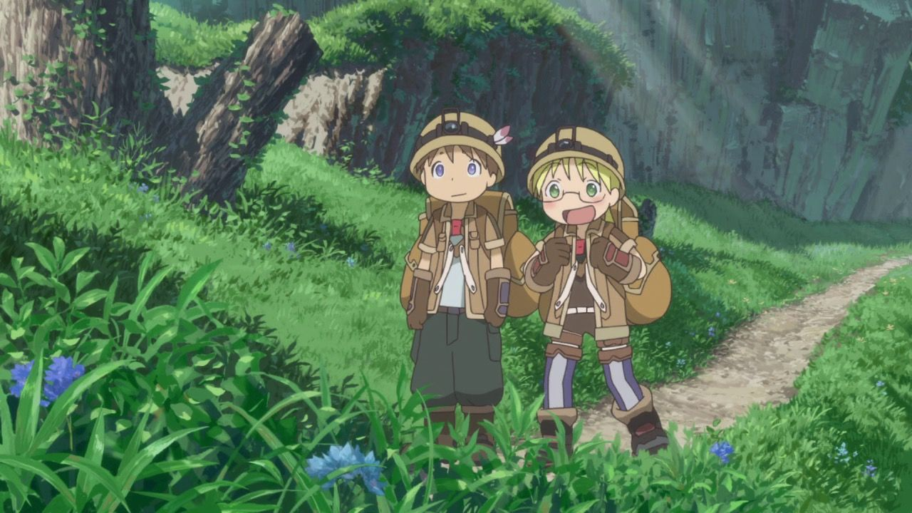 Image result for made in abyss with images abyss anime