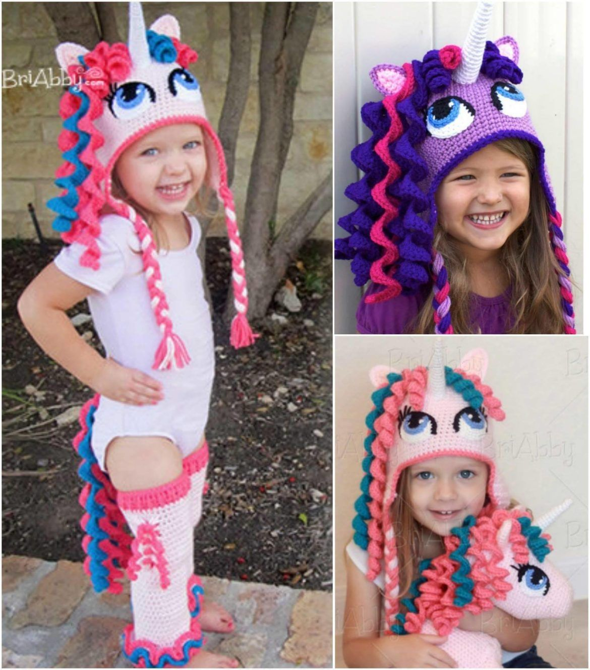 My Little Pony Hat Crochet Pattern Lots Of Cute Ideas | Post check ...
