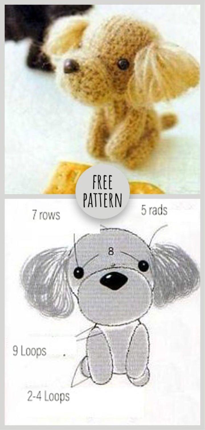 Little Dog Free Pattern | Perros (ropa y....) | Pinterest ...