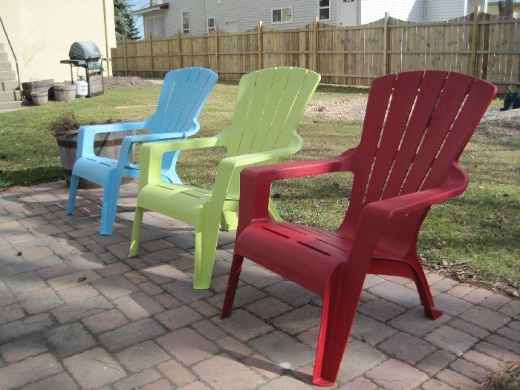 Plastic Adirondack Chairs Plastic Patio Furniture Outdoor