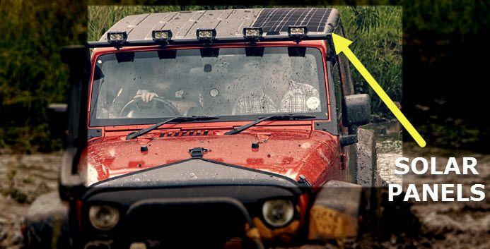 My Next Diy Project Solar Panels For My Cj7 Solar Diy Projects Solar Panels Jeep Life