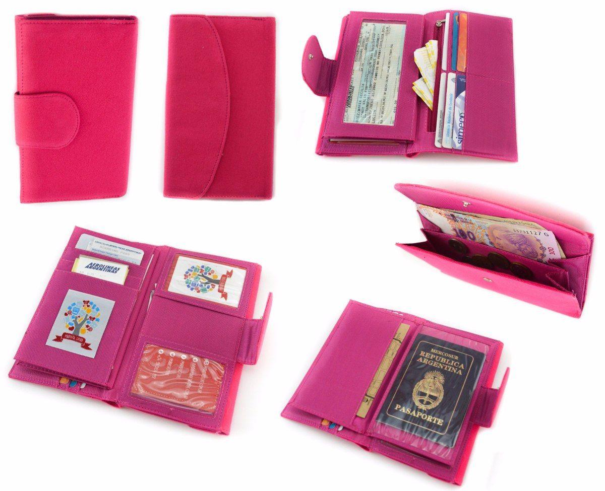 9b0bbdcc9 organizador de pasaportes documentos billetera ideal viajes ...