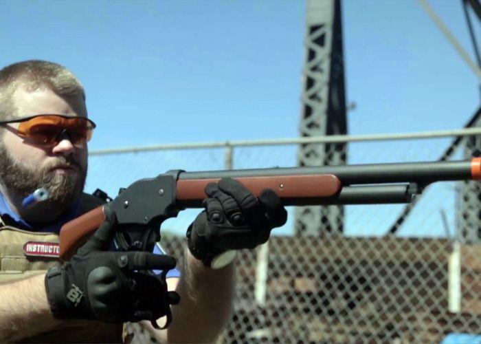 Evike com: M1887 Lever Action Shotgun | Liberals do not read