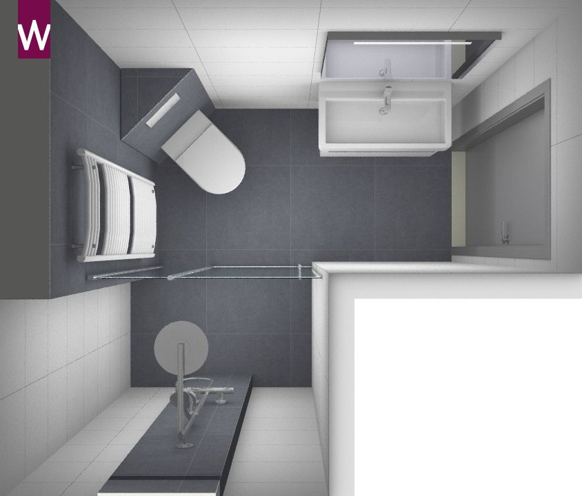Kleine badkamer ontwerpen Bekijk ontwerpen en ontwerp
