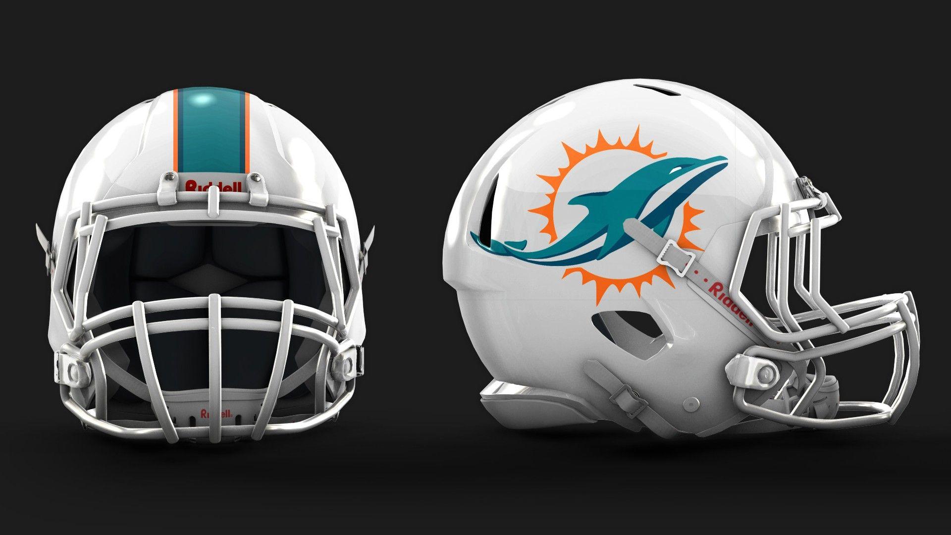 Miami Dolphins 2013 New Logo And HelmetGood To See The Old Colors Back