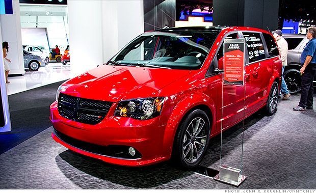 Cool Cars From The Detroit Auto Show Grand Caravan Detroit Auto