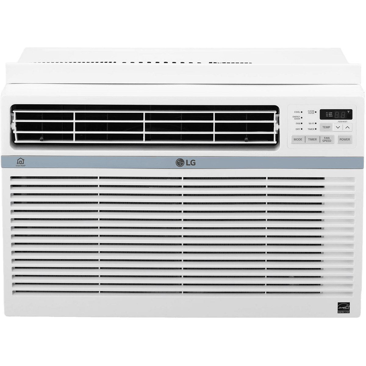 Buy Cheap LG 8000 BTU Window AC WiFi Controls LW8017ERSM