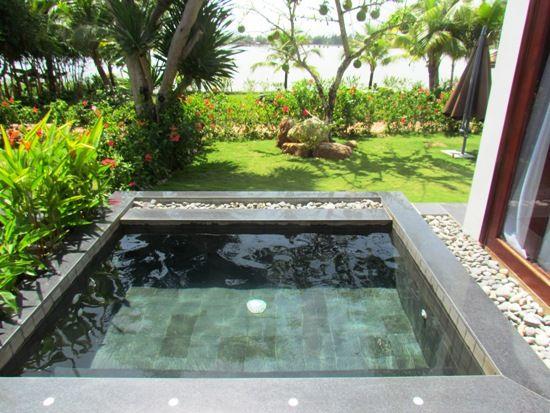 Plunge pool design post navigation return to plunge pool for Garden plunge pool
