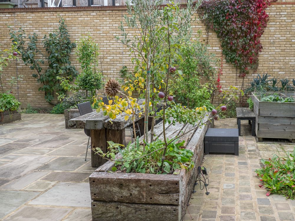 Kitchen Garden Design East London From Earth Designs