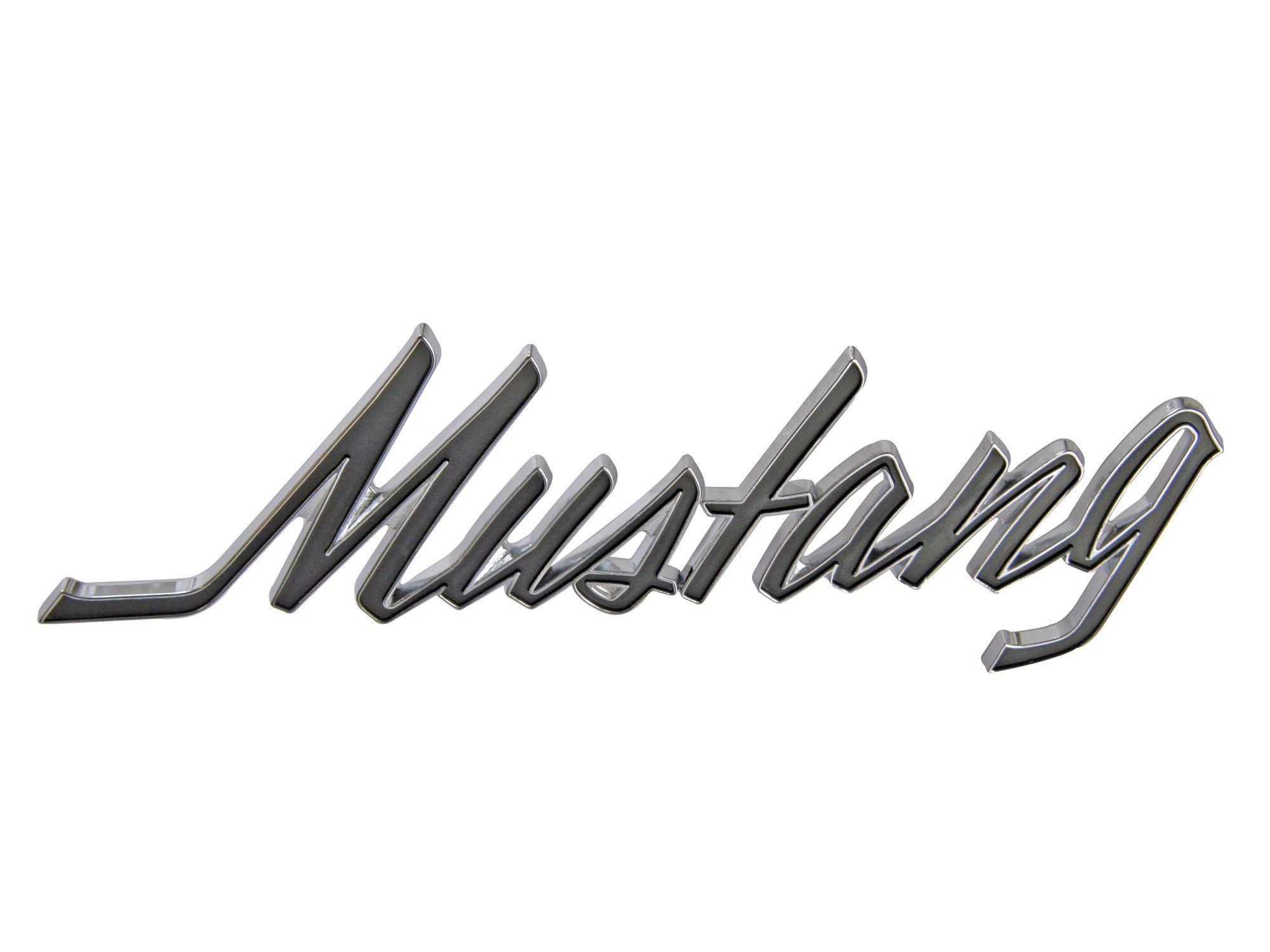 Mustang Word Tatoo