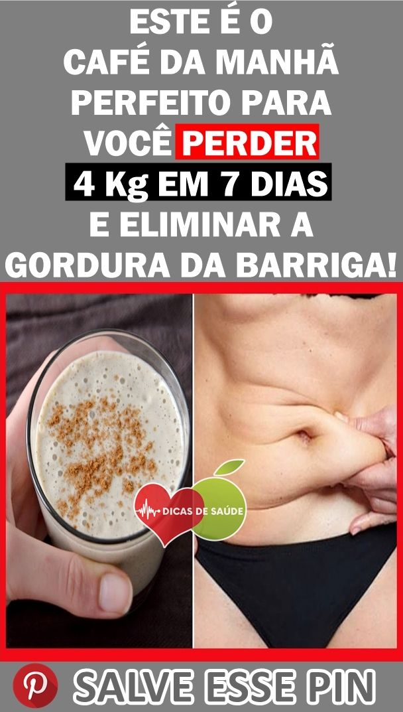 Este E O Cafe Da Manha Perfeito Para Voce Perder 4 Kg Em 7 Dias E