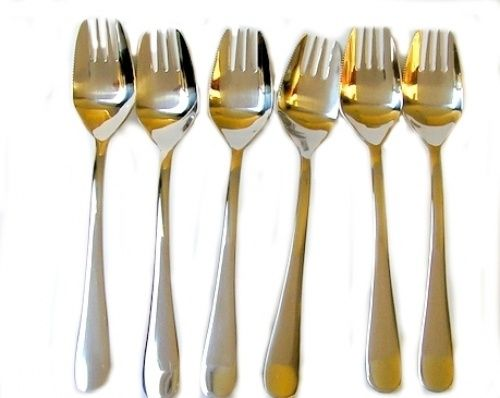 6 Buffet Forks a cross between a knife, a fork and a spoon