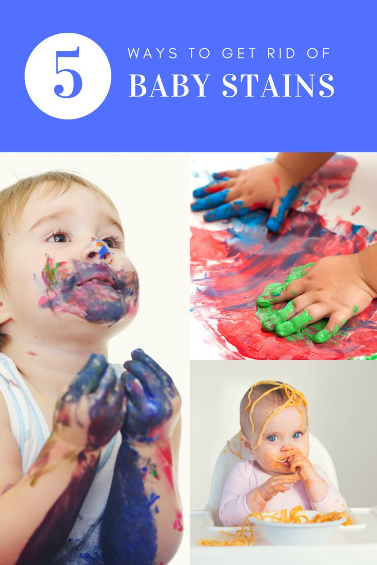 5 ways to actually get baby stains out of clothes diy