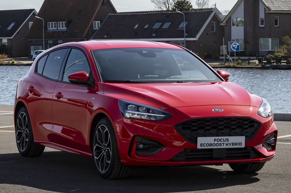 Ford Focus Ecoboost Hybrid St Line 2019 Ford Focus Ford 2019