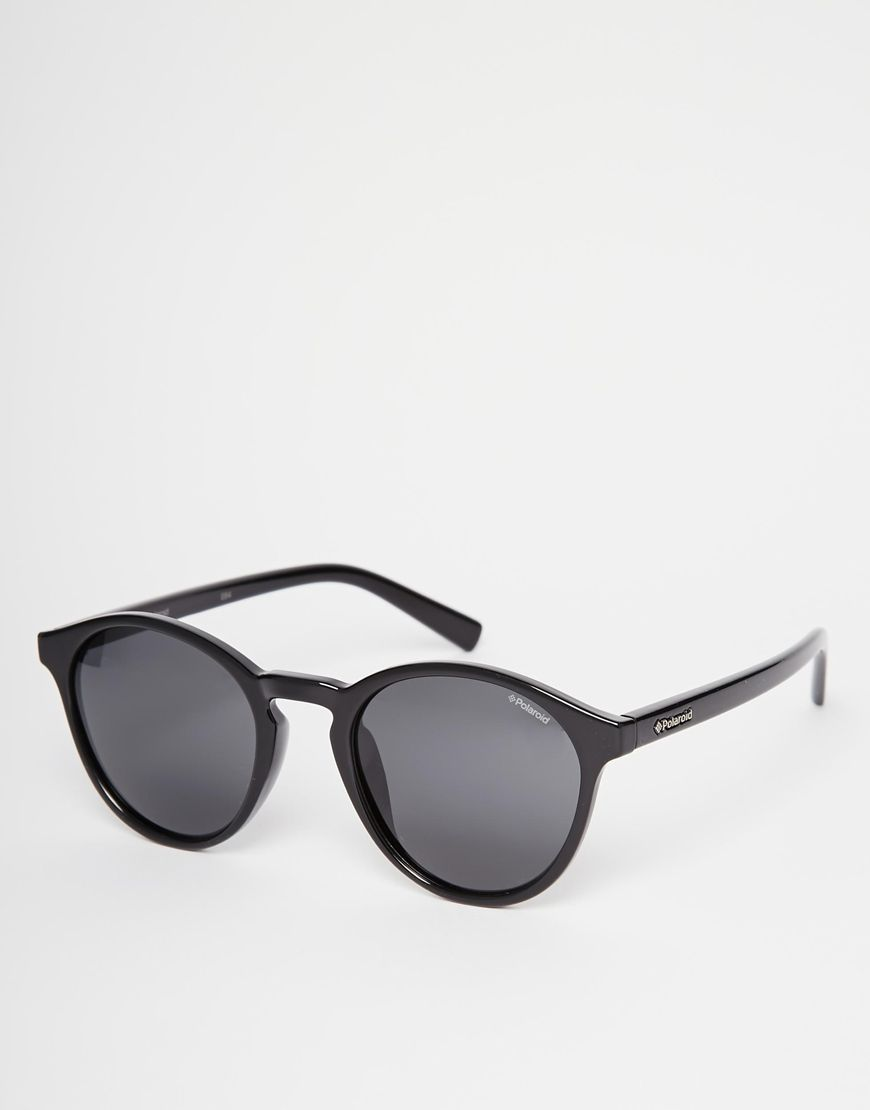 Sunglasses by Polaroid Lightweight round frames Moulded nose pads ...