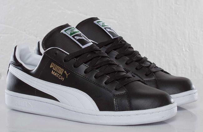 Puma Match Solid FS | Black \u0026 White