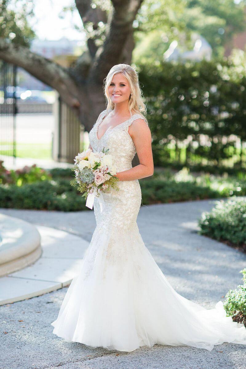 Elegant sage green wedding wedding gown inspiration