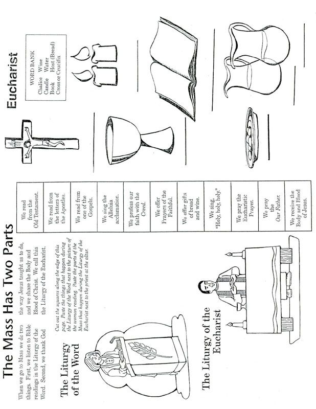 catholic mass parts in order worksheet cfp activities pinterest catholic mass worksheets. Black Bedroom Furniture Sets. Home Design Ideas