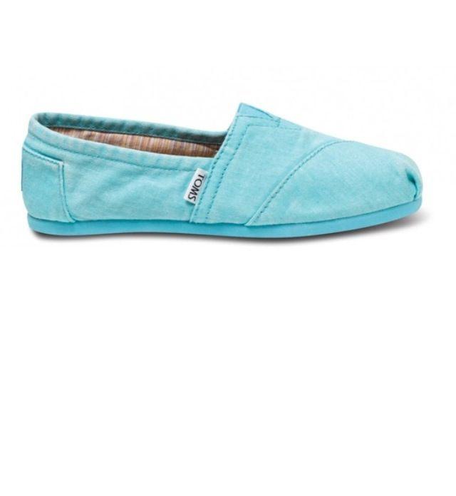Tiffany blue toms