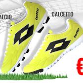 ufficiale più votato personalizzate design innovativo Sei pronto a correre? Grande promozione Calcio o Calcetto ...