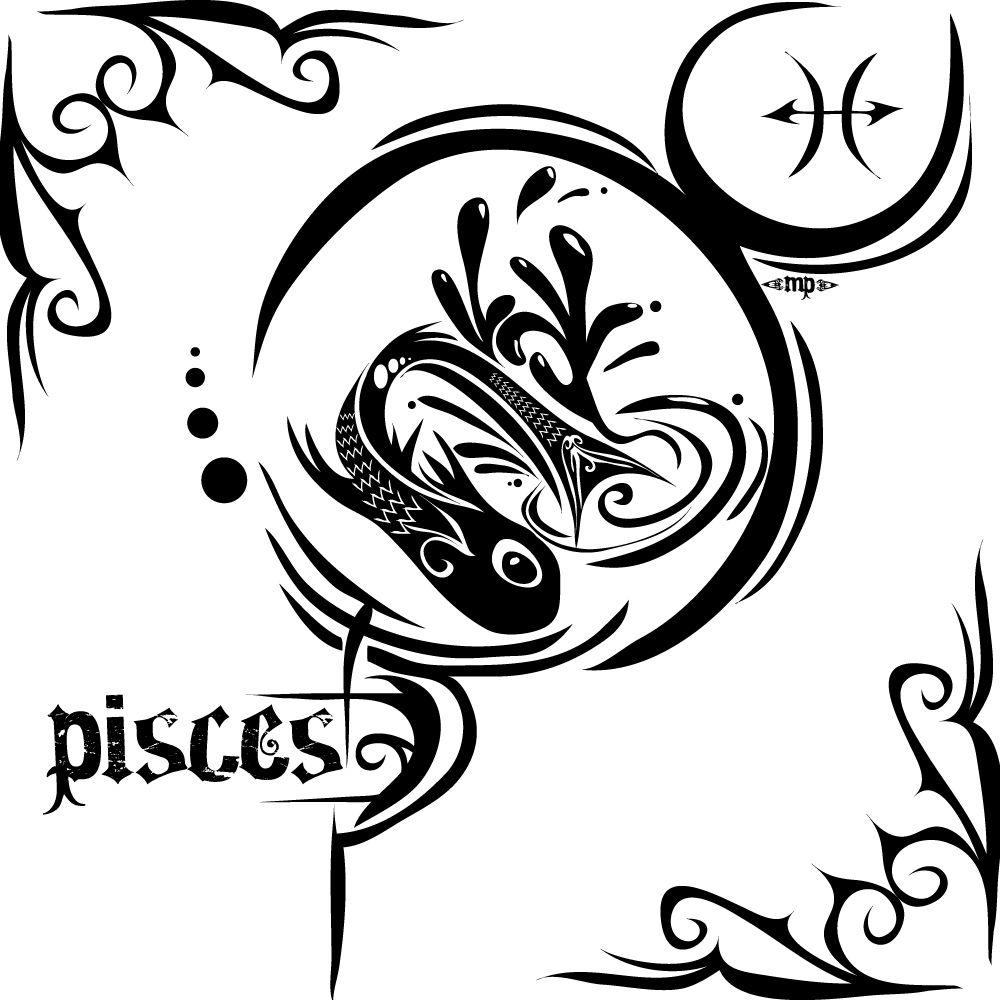 tatouage poisson symbolique du signe astrologique des poissons astro pinterest tatouage. Black Bedroom Furniture Sets. Home Design Ideas