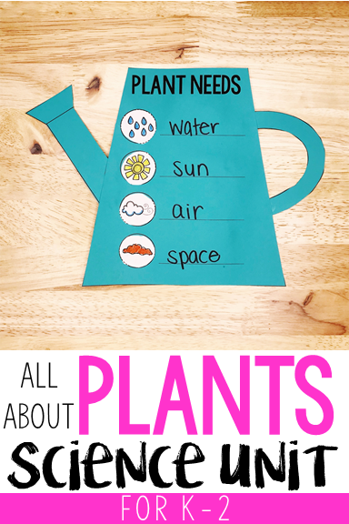 All About Plants Science Unit for K-2