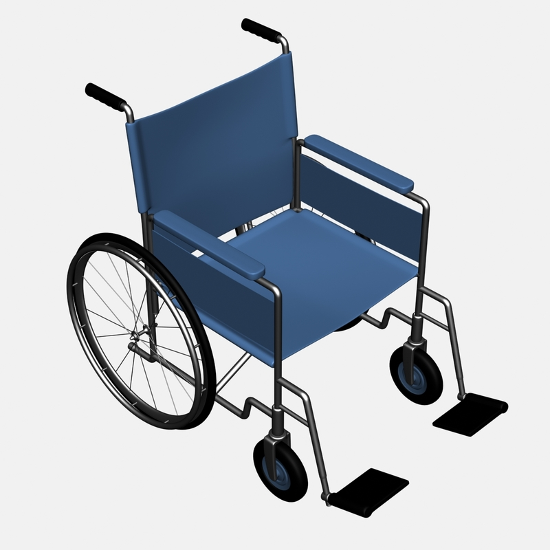 Blue Wheelchair Png Image Png Images Png Blue