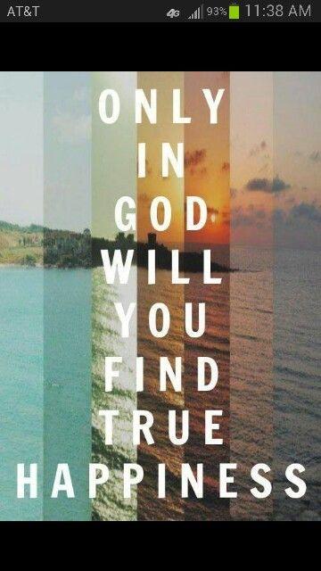 In god will find true