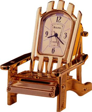 Adirondack Chair Miniature Clock Time Pieces In 2019