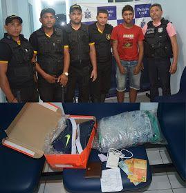 NONATO NOTÍCIAS: Jaguarari: Policia Civil e Guarda Municipal aprese...