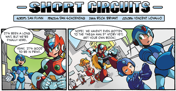 LORAINE: Mega man comic strip