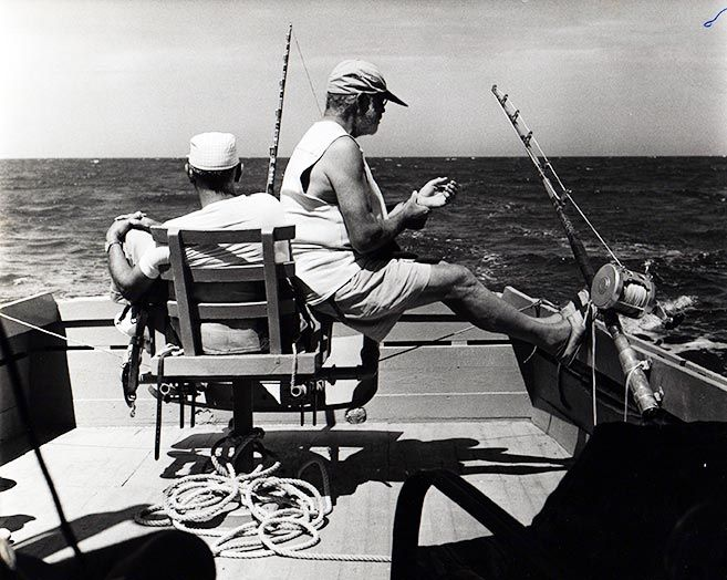Sailing Quotes Hemingway Quotesgram: Ernest Hemingway Fishing Boat - Google Search